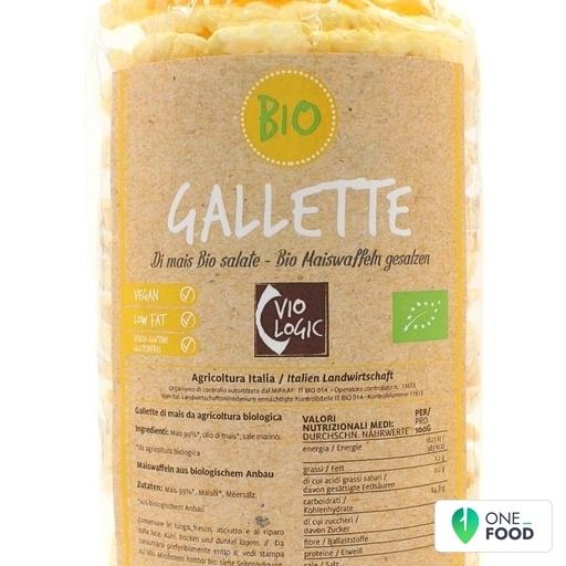 Galette Di Mais Bio Salate 1 X 120 G